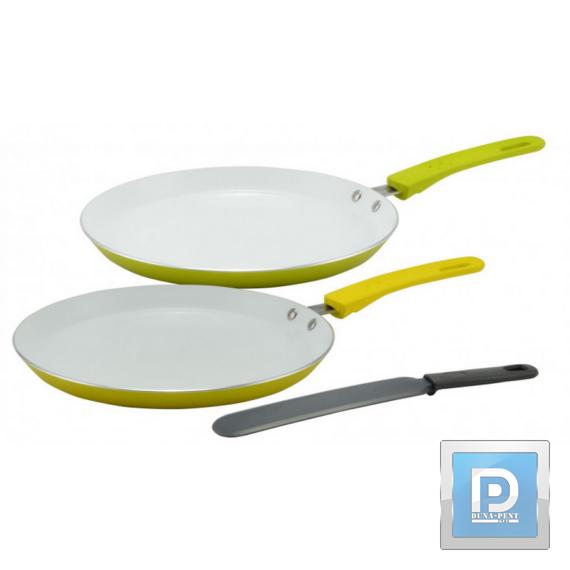 Kerámia bev. palancsintasütő +spatula 24 cm