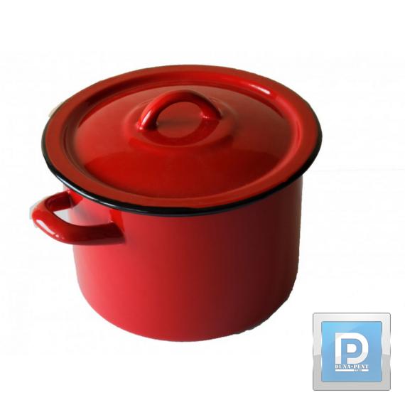 Fazék+fedő 20cm 4,25L piros