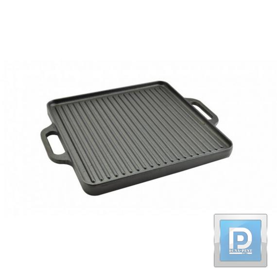 Öntöttvas grill lap 32*32cm