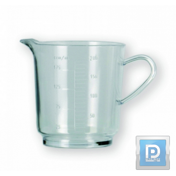 Mércés pohár 2,5 dl víztiszta