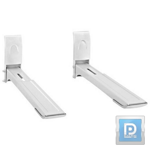 mikrosütőtartó fali állítható fehér