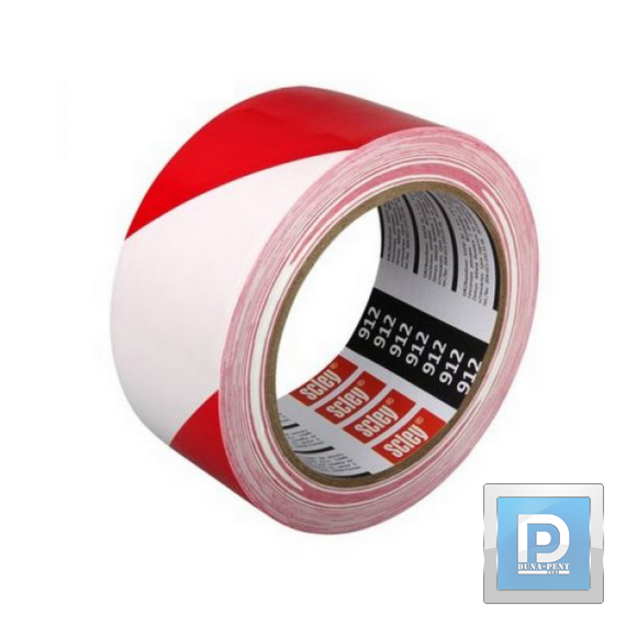 Kordon szalag piros -fehér250m*80mm