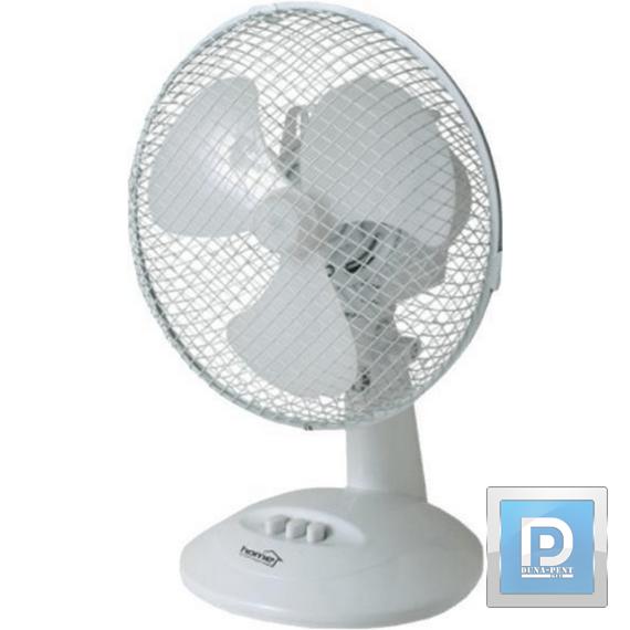 Asztali ventillátor 23 cm fehér
