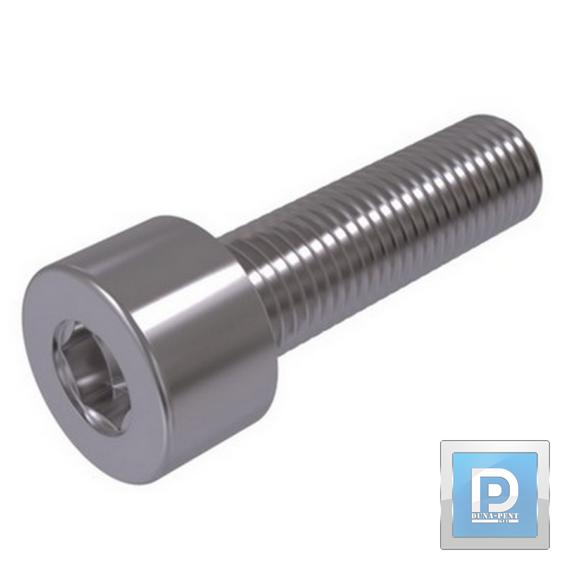 Belső kulcsnyílásos hengeres fejű metrikus csavar M 10*130 12.9