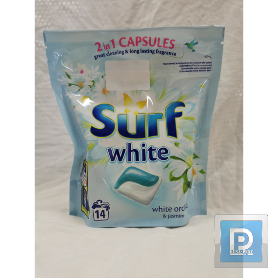 Surf mosókapszula 14 db white